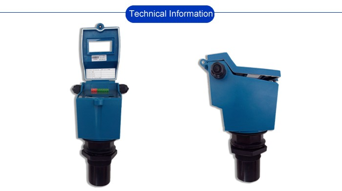 Oil tank usage integrated ultrasonic water liquid level