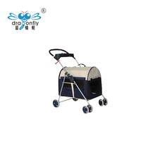 Eco-friendly portable Use New Bicycle Bike Dog Cat Pet Strollers