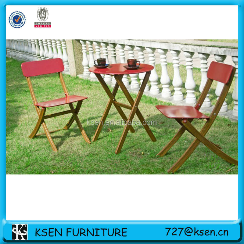 2013 new design garden table and chair set KC-TC48