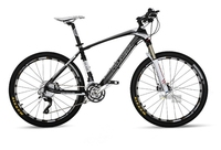 26'' 10 Speed Carbon Fiber Suspension Mountain Bike