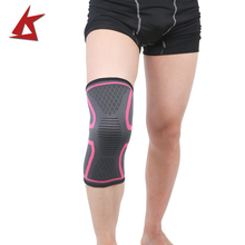 KS-2002#Fashion elastic fabric knee sleeve pads cycling climbing warm thermal knee brace support