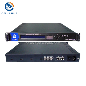 digital tv headend equipment catv encoder 4 CH hd encoders COL5100D