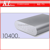 High quality Portable power bank 10400mah for xiaomi mobile