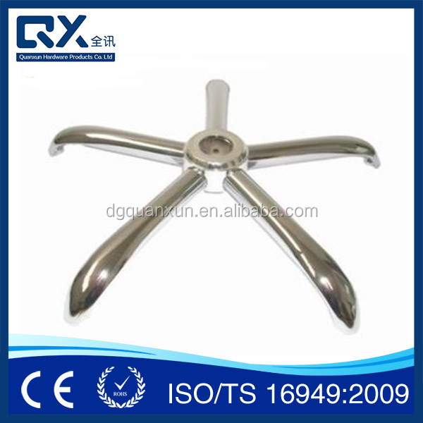 ODM Customized Seat Frame Die Casting home furniture accessories for chair