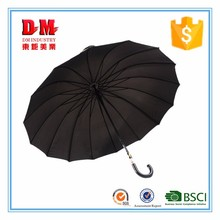 new design color changing straight umbrella with good quality