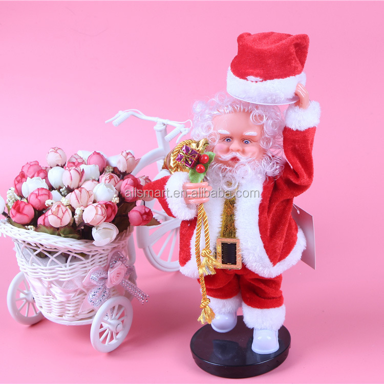 Christmas Santa Claus Figure Singing Electric Toys