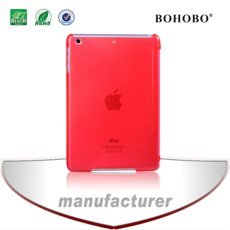 China supplier,insider and outside brushed PC hard case for Ipad mini 2