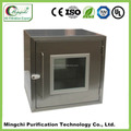Electronic interlock transfer window for clean room Pass Thrus box wall mounted transfer window