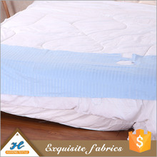 Top quality Soft handle Cheap white embossed fabric