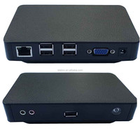 fl100 cheap linux mini pc thin client with 521MB ram and 4GB f lash.