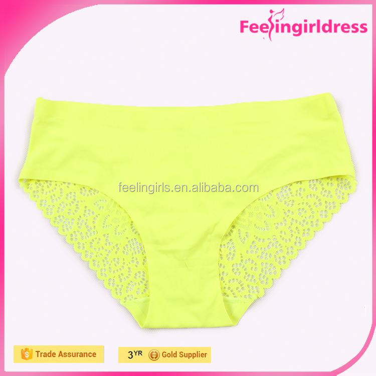 Ultra thin sexy underwear women seamless sexy lace panties for men