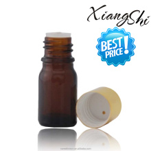 30ml amber glass bottle for lab experiment with cap and brush/inner