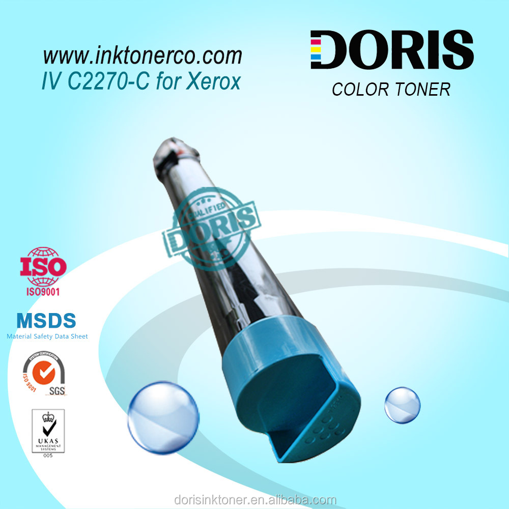 toner powder IV C2270 IVC2270 Cyan color copier toner for DocuCentre IV C2270/3370/4470/5570