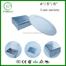 Low power consumption anti-glare low profile led recessed downlight for soffit installation