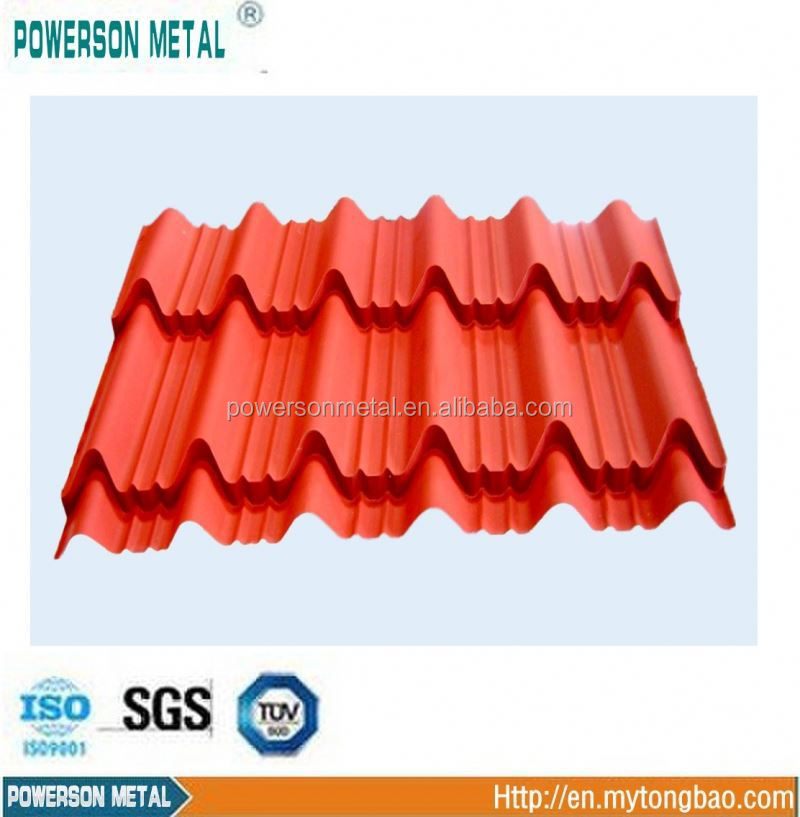 Nuoran Sand Coated Steel Roof Tiles/High Quality Roman Design Aluminum Zinc Steel Plate for Roofing