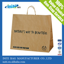 valentine day paper bag/custom luxury decorative paper bags