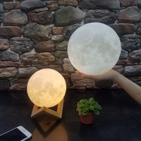 Portable 3D Print Moonlight Touch Switch