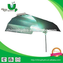 hydroponic grow light lamp shade/ large adjustable wing aluminum reflector/ wing reflector for hydroponics grow light