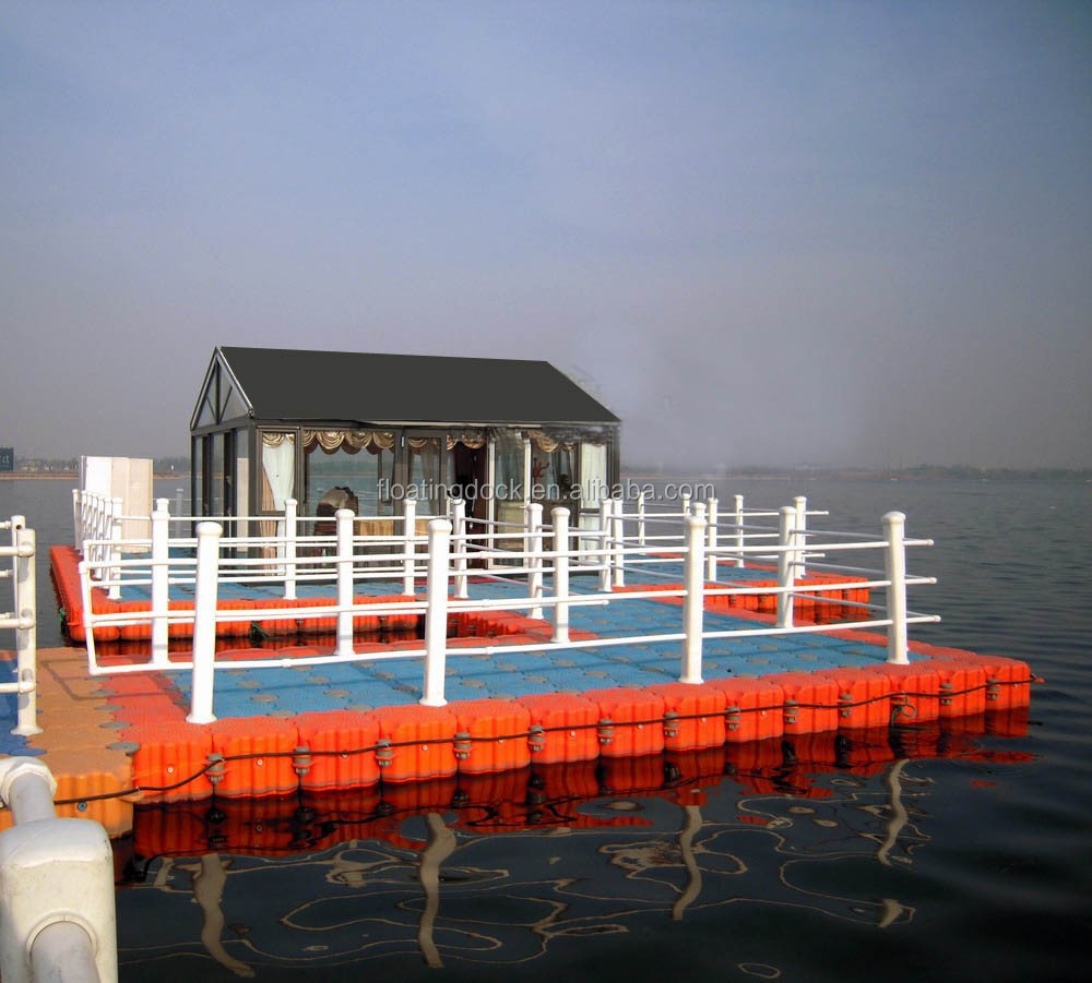 marine plastic pontoon house