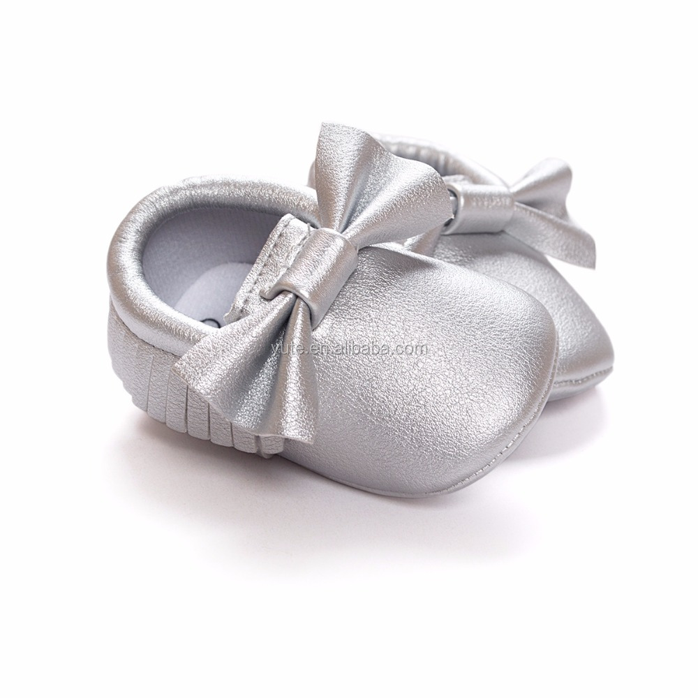 Wholesales high quality genuine leather soft baby shoes for kid
