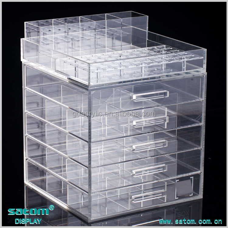 Drawer Acrylic Makeup Organizer Drawers - Buy 6 Drawer Acrylic Makeup ...