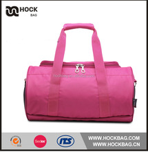 fashion candy color shoes bag for travel /simple design clothes travel storage duffle bag