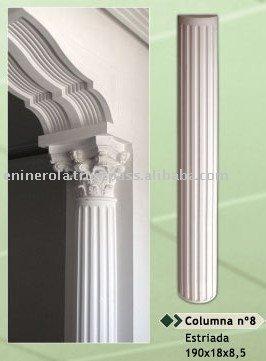 columnas yeso