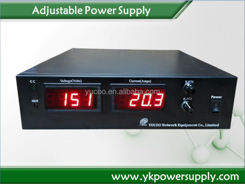 0-150V 0-20A adjustable switch mode power supply