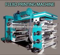 Flexo Six Color Printing Machine
