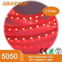 5050 flexible led strip for christmas ornaments with CE RoHS