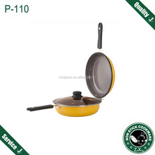 26cm Double Pan Multi Fuctional Double Fry Pan Grill Pan