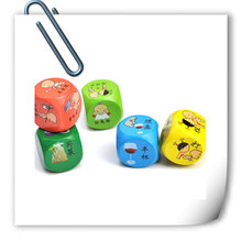 Alibab China Brand High quality Customized PET Heat Transfer printing Film for wooden dice