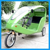 3 wheel electric auto rickshaw with pedal assist