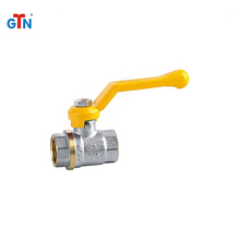 Hot sales middle weight forged gas valves 246V-A long handle brass ball valve