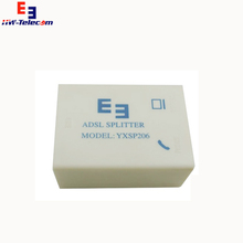 new design high quality hwsp 168 adsl splitter,phone ADSL modem filter for movistar