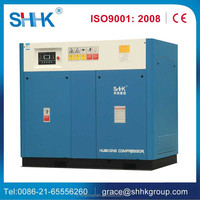 screw type 37kw invertor air compressor for drilling rig