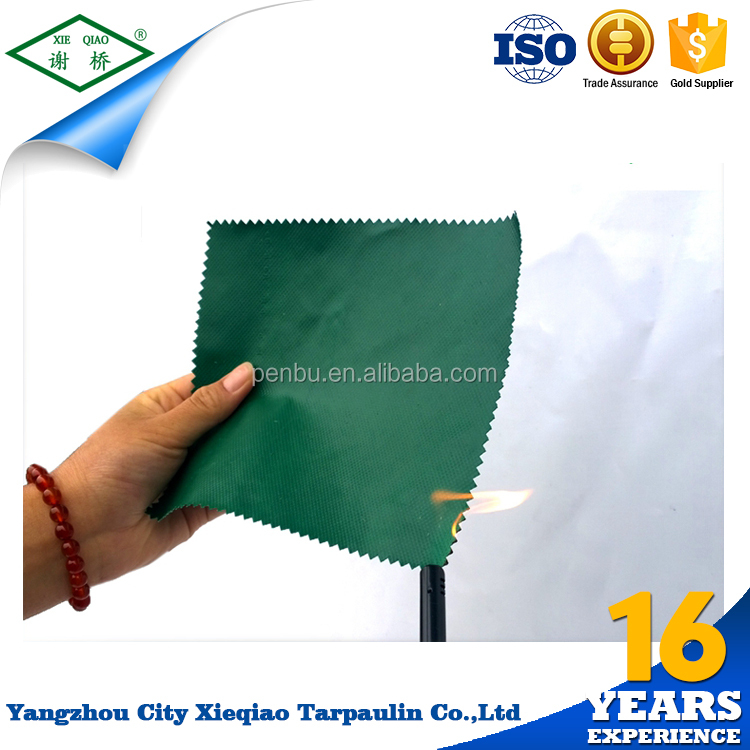 Quality Reinforced Waxed Fabric glossy plastic canvas pvc tarpaulin