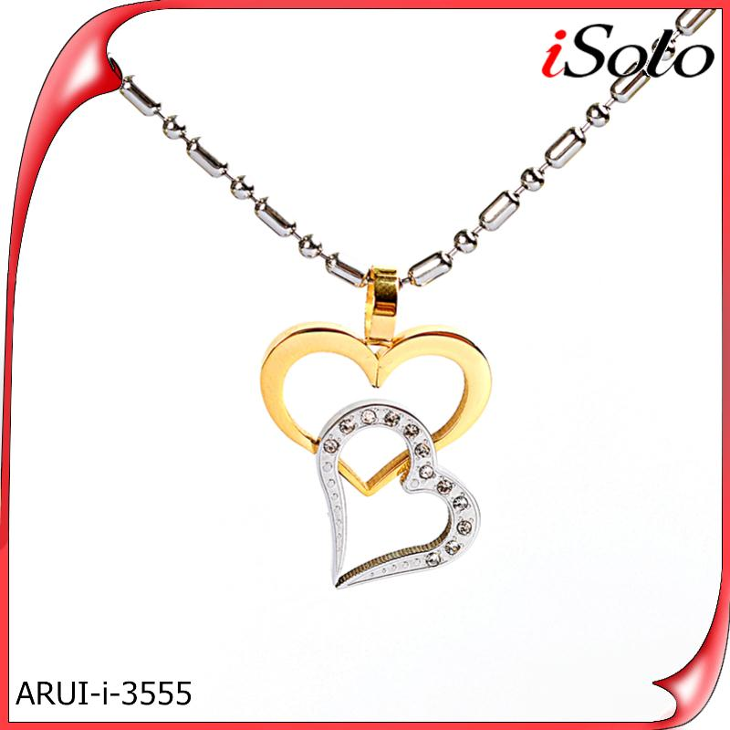 Companies looking for sales agents Stainless steel heart pendant