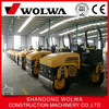 drive on road roller 24.4kw water cooling road compacter