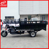Powerful Boosting Rear Axle Three Wheeler Strong Loading Motor Tricycle For Sales