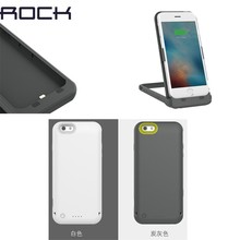 ROCK Brand 3500 mAh Power Bank Charger Case for iPhone 6 6S,for iPhone 6 Charging with Holder Stand