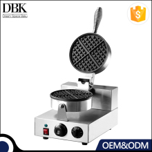 1-Plate Commercial Non-Stick Cooking Surface Feature hong kong Baker waffle maker