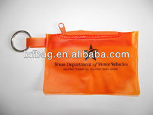 2013 new fashion color pvc zipper bag style