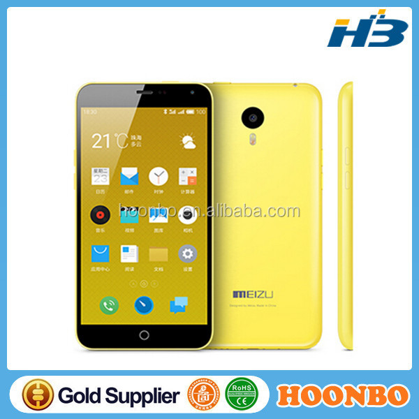 Hot Meizu M1 Note Mobile Phone MTK6752 Android 4.4 2GB 32GB 5.5inch 13MP 4G FDD LTE unlocked cellphone