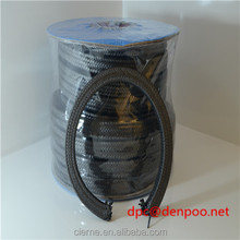 Mining Pump valve Compression ePTFE Graphite Composite Black PTFE asphalt gland Packing