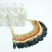 Factory wholesale fashion new design beads necklace