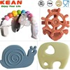 Silicone Pendant Teether Jewelry&Natural Rubber Teethers