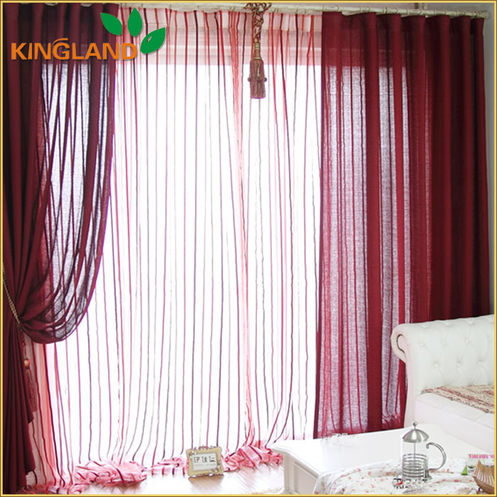 Cheap beautiful design living room sheer curtains and drapes
