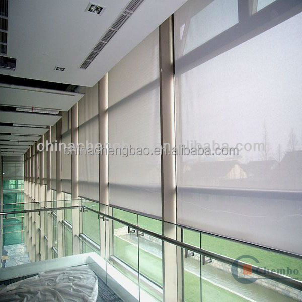 manual translucent sun screen fabric for roller blinds