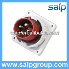 Waterproof Industrial Panel Mounted Plug and Socket electric meter socket box
